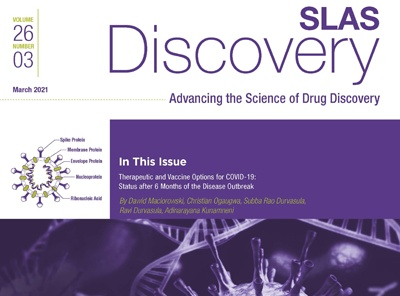 March <em>SLAS Discovery</em> Explores COVID-19 Drug Therapies Six Months Later